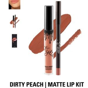 Kylie Cosmetics Dirty Peach Liquid Lipstick Matte
